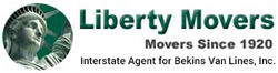 Liberty Movers logo
