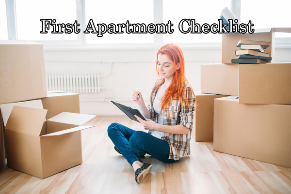 first apartment checklist banner image