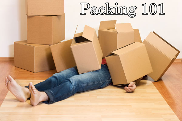 packing 101 checklist banner image