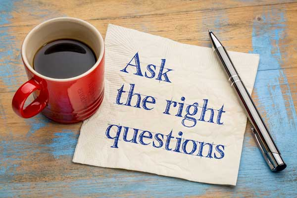 Ask the right questions to movers