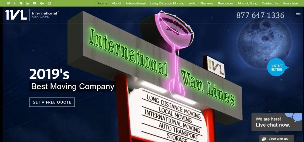 International Van Lines Review