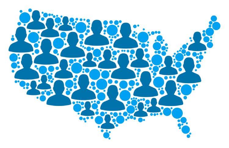 US Population Map