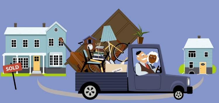 Downsize When Moving