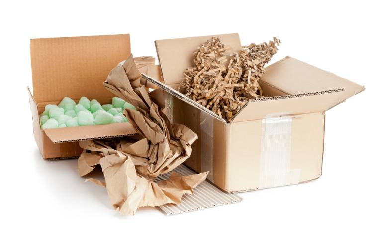 Packaging Materials After Move