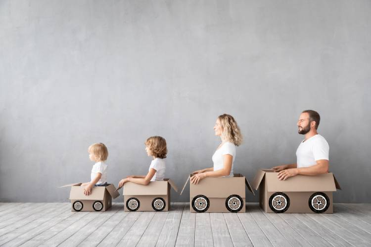 moving with a toddler