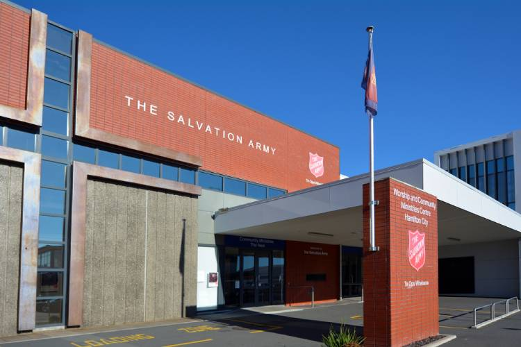 Donating to Salvation Army