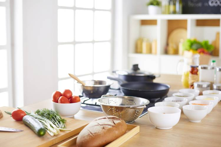 How to Stock a Kitchen for the First Time